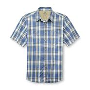 Outdoor Life Men's Big & Tall Short-Sleeve Dress Shirt - Plaid at Sears.com