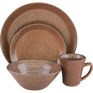 SANGO Comet Sienna 16 piece Dinnerware Set at Kmart.com