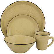 SANGO Comet Cream 16 piece Dinnerware Set at Kmart.com