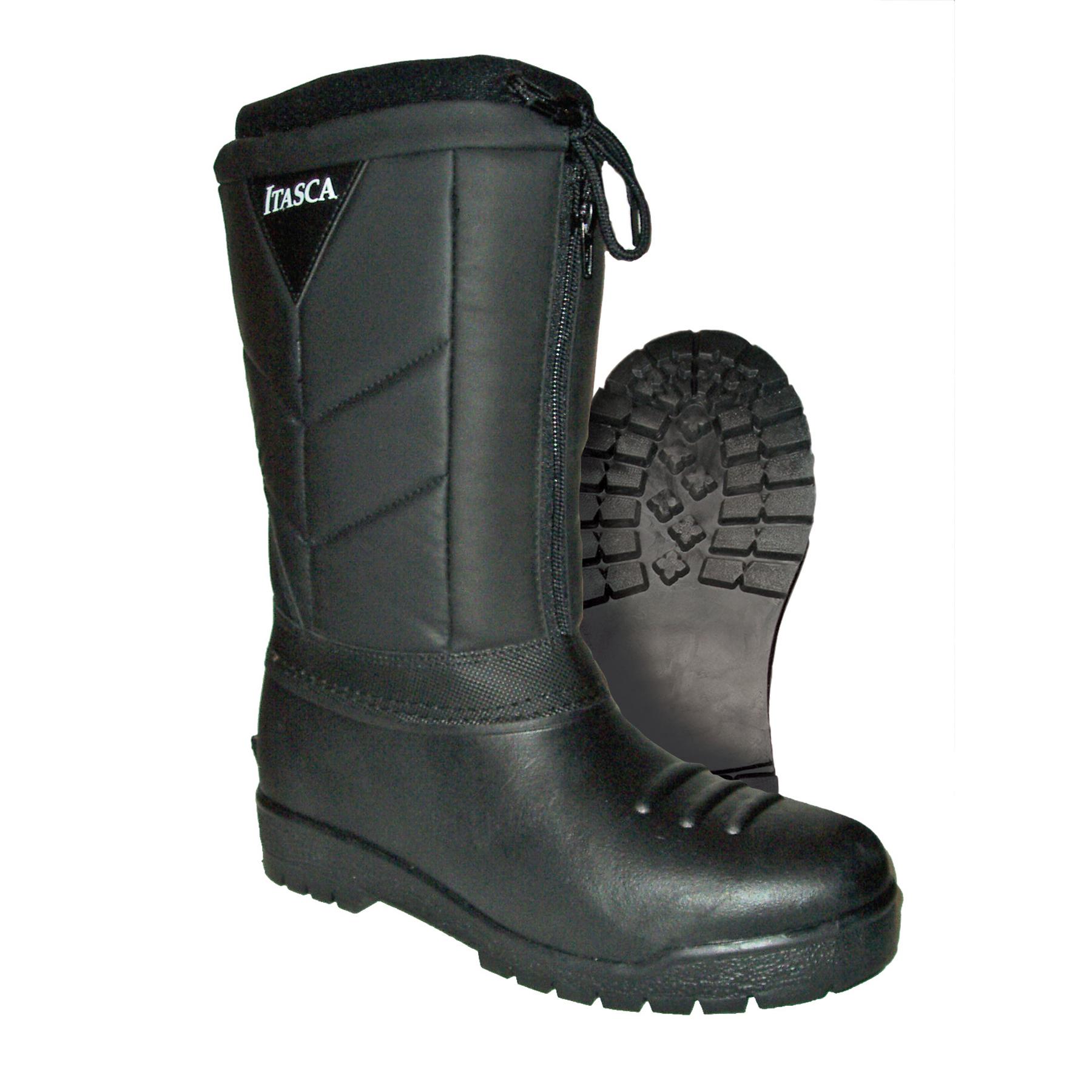 Itasca Men's Benchwarmer Boot Black