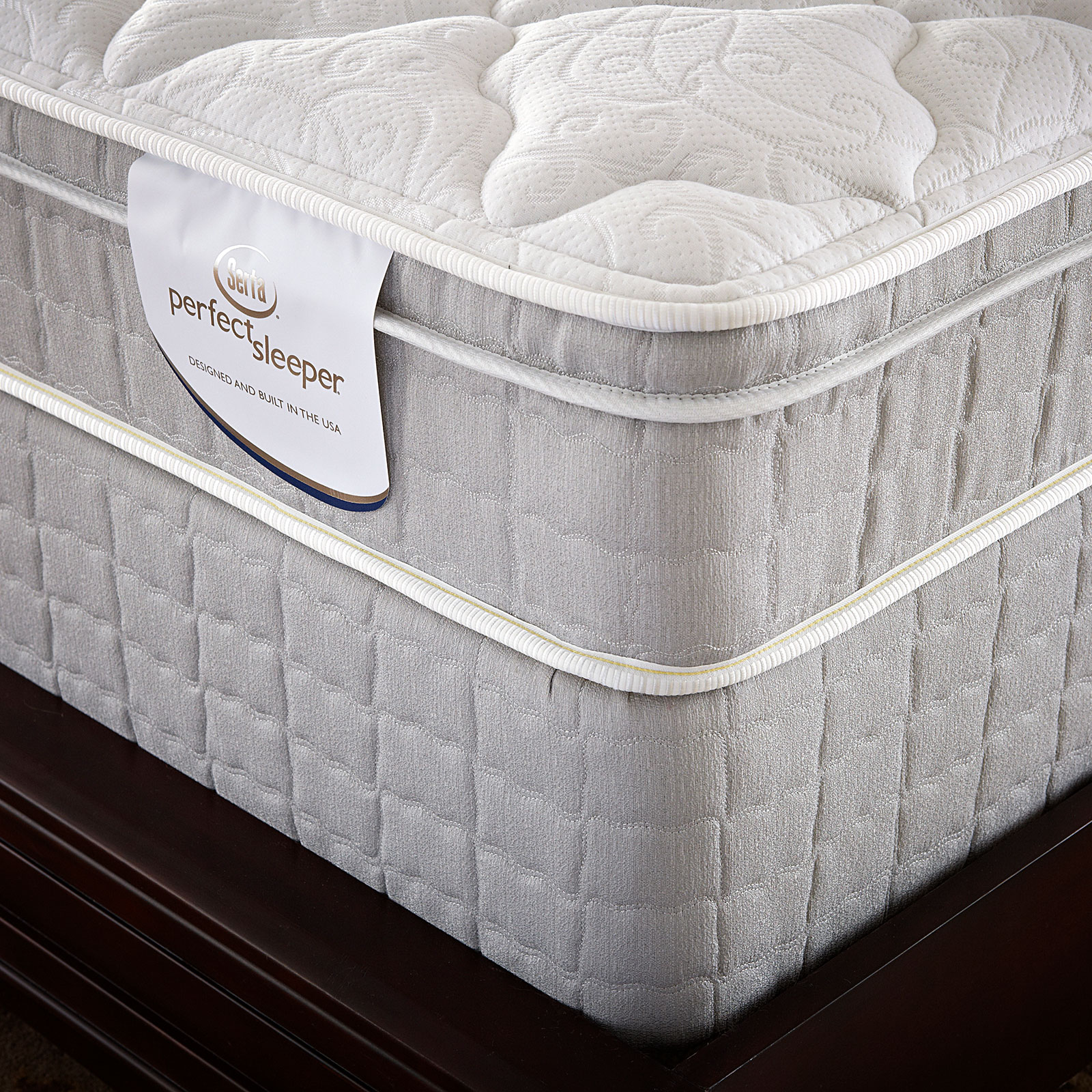 Serta  Careybrook Eurotop King Mattress