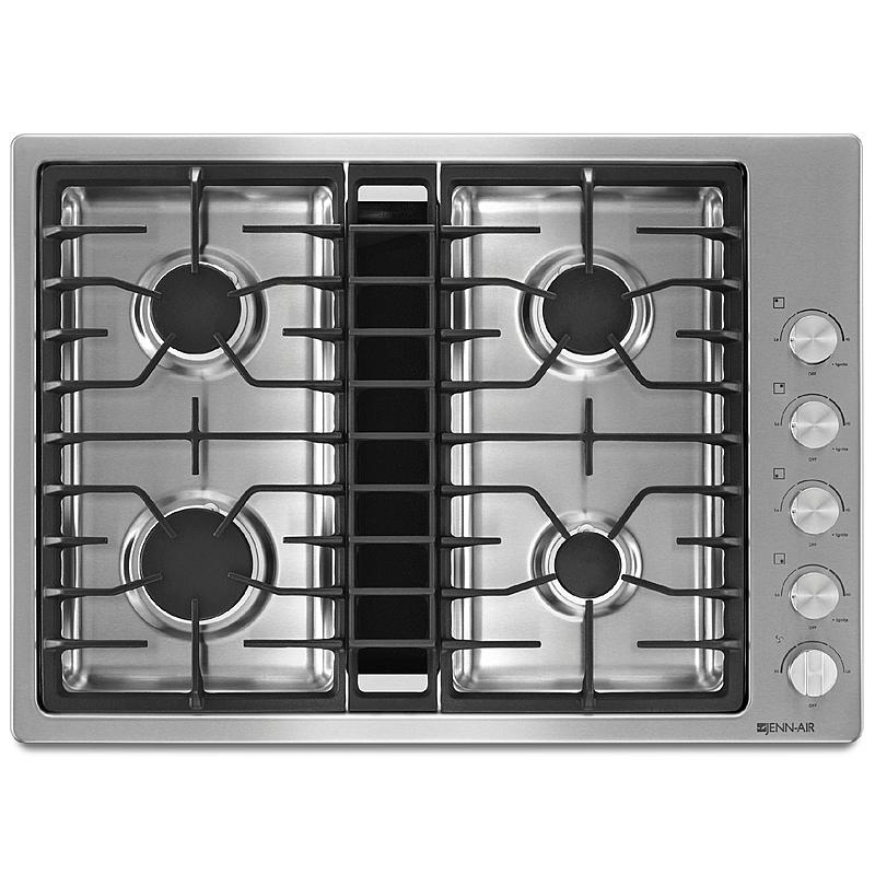 "Jenn-Air 30"" JX3™ Downdraft Gas Cooktop - Stainless Steel"