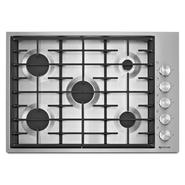 "Jenn-Air 30"" Euro-Style 5-Burner Gas Cooktop - Stainless Steel at Sears.com"