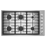 "Jenn-Air 36"" Euro-Style 6-Burner Gas Cooktop - Stainless Steel at Sears.com"