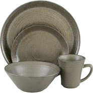 SANGO Comet Black 16 piece Dinnerware Set at Kmart.com