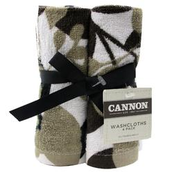 Cannon 4-Pack Washcloths - Leafing at Kmart.com