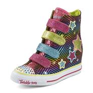 Skechers Girl's Twinkle Toes: Gimmie - 4 UPZ Multicolor High-Top Sneaker at Sears.com