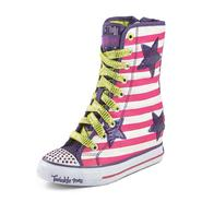 Skechers Girl's Twinkle Toes: Gimmie - Goin' Wild Pink/Purple High-Top Sneaker at Sears.com