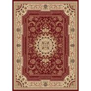 Tayse Rugs Sensation 4670 Red 5 ft. 3 in. x 7 ft. 3 in. Traditional Area Rug at Sears.com
