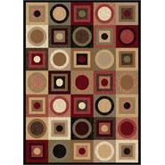 Tayse Rugs Elegance 5130 Multi 5 ft. x 7 ft. Contemporary Area Rug at Kmart.com