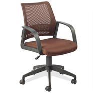 Leick Deep Brown Mesh Back Office Chair at Kmart.com