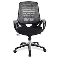 Leick Platinum Mesh Back Office Chair at Kmart.com