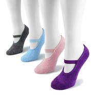 MUK LUKS® Women's 4 Pair Pack Buttercreme Maryjane with Aloe at Sears.com