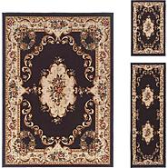 Tayse Rugs 4613  Charcoal  3 Pc. Set at Sears.com