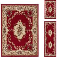 Tayse Rugs 4610  Red  3 Pc. Set at Sears.com