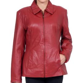Excelled Womens  Lamb Skin Scuba Jacket - Online Exclusive at Sears.com