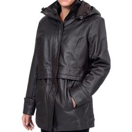Excelled Womens Leather Anorak - Online Exlcusive at Sears.com