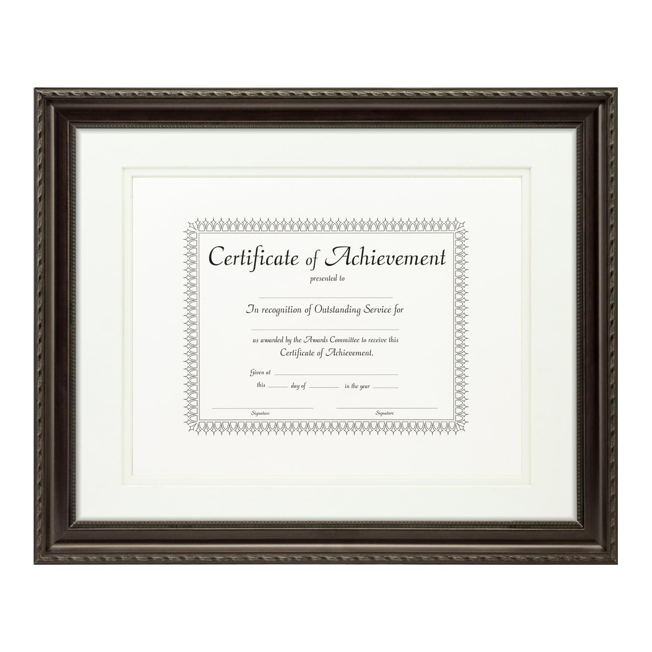Traditional Dark Walnut Solid Wood Document
