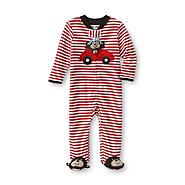 Little Wonders Infant Boy's Footed Pajamas - Monkey at Sears.com