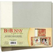 "BO BUNNY 3-Ring Bare Naked Binder 9""X9""-W/6 Chipboard Page at Kmart.com"