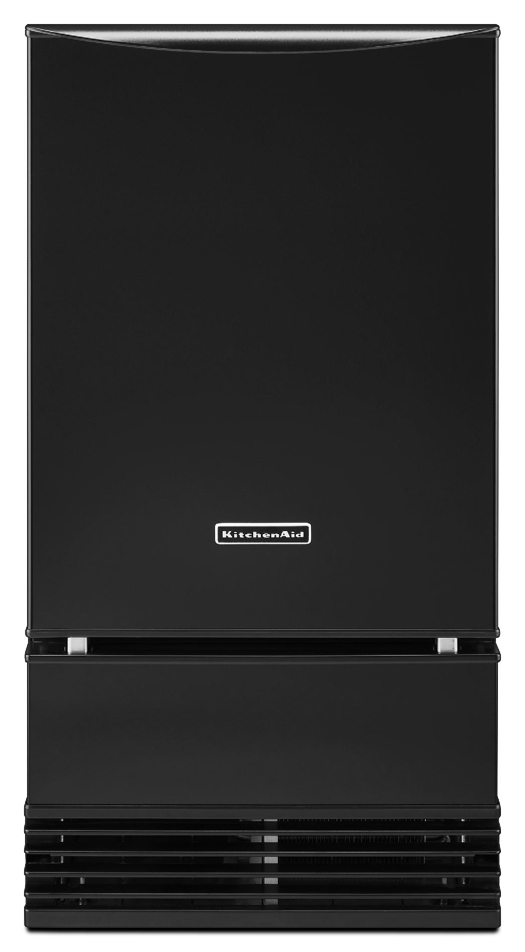 "KitchenAid KUIS18NNZB 18"" Ice Maker w/ Max Ice - Black"