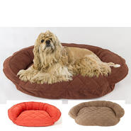 Carolina Pet Company Medium Microfiber Quilted Bolster Bed with Moister Barrier at Kmart.com
