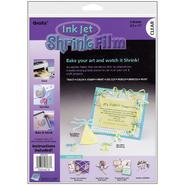 "GRAFIX Ink Jet Shrink Film 8.5""X11"" 6/Pkg-Clear at Kmart.com"