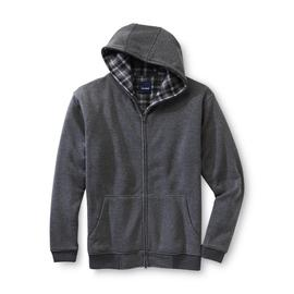 Basic Editions Men's Reversible Hoodie Jacket at Kmart.com