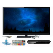 Panasonic 50 In. Viera ST60 Series 1080p Smart 3D Plasma HDTV with HD Performance Kit and Full HD Blu-ray Player - TC-P50ST60-3A-KIT at Sears.com