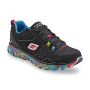Skechers Women's Perfect Color Flex Sole Black/Multicolor Athletic Training Shoe at Sears.com