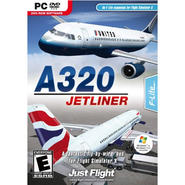 A320 JETLINER - FLIGHT SIMULATOR EXPANSION PACK - Black at Kmart.com