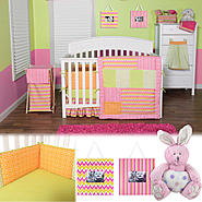 Savannah - 3 Piece Crib Bedding Set, Photo Frames & Crib Bumpers at Sears.com