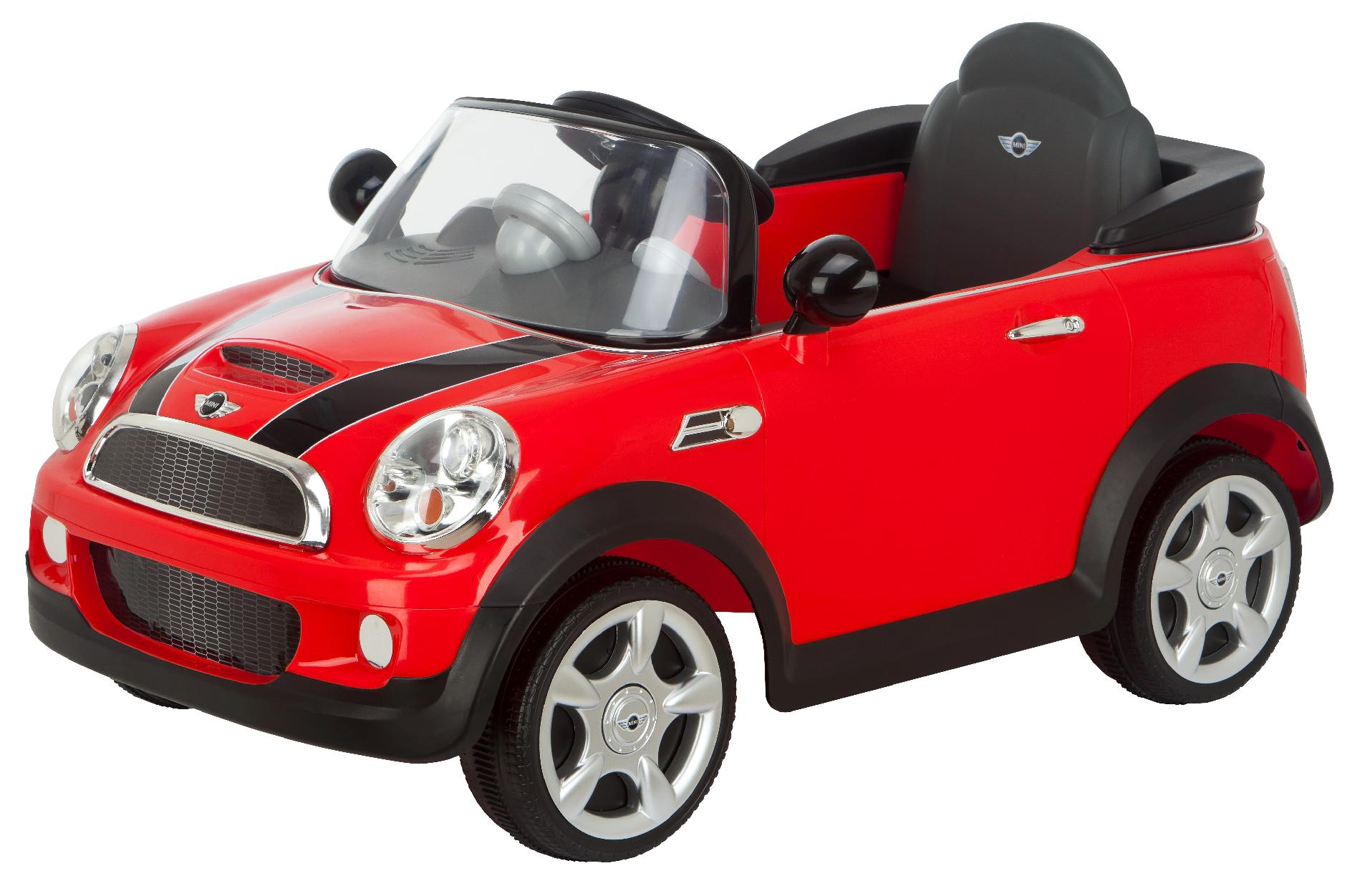 kidtrax mini cooper 6v red toys games ride on toys safety powered vehicles