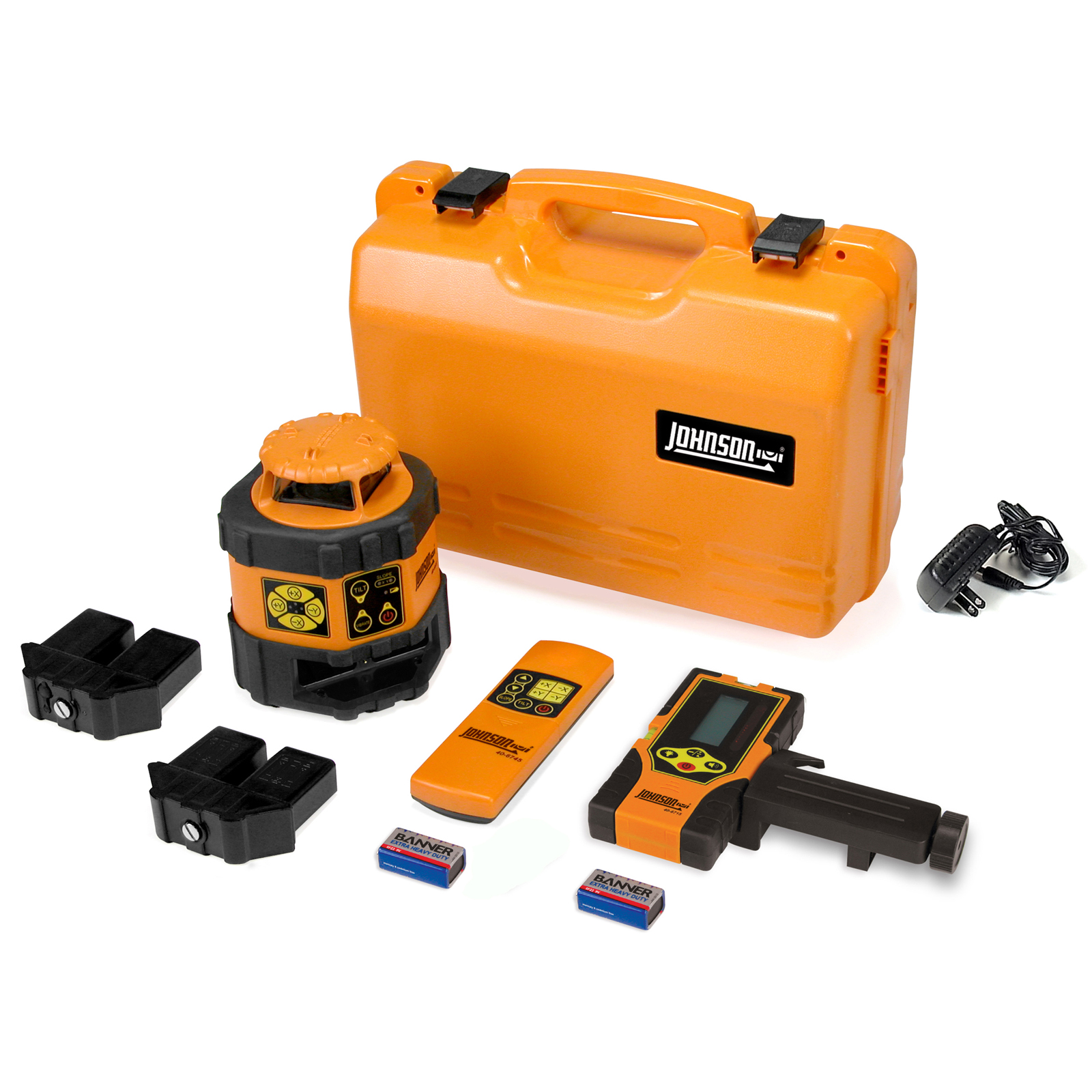 Johnson Level Electronic Self-Leveling Horizontal Rotary Laser Kit