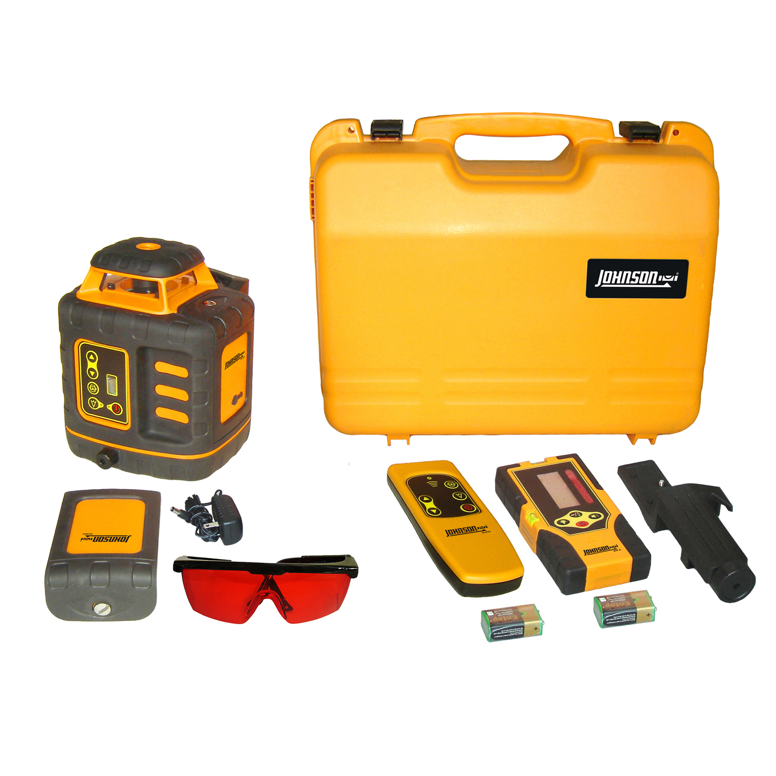 Johnson Level Self-Leveling Rotary Laser Kit