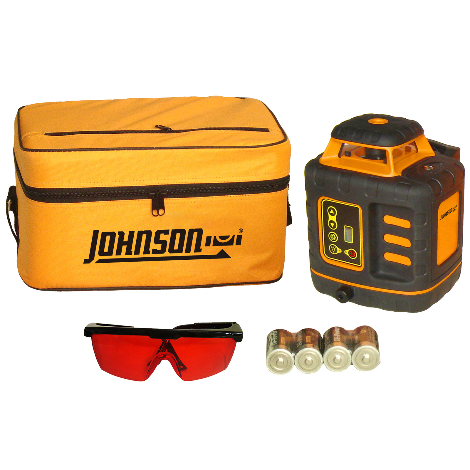 Johnson Level Self-Leveling Rotary Laser