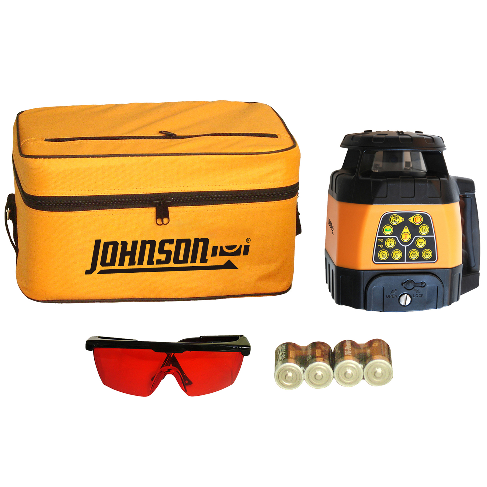 Johnson Level Electronic Self-Leveling Horizontal & Vertical Rotary Laser