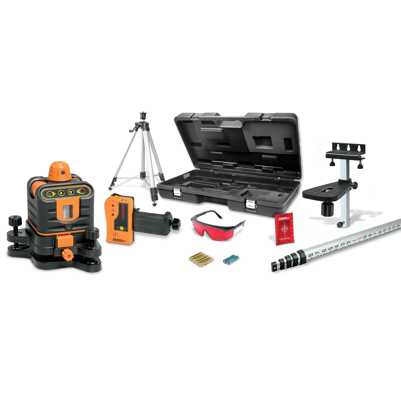 Johnson Level Manual-Leveling Rotary Laser System