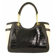 Mondani Women's Lena Chain Handbag - Mock Croc at Sears.com