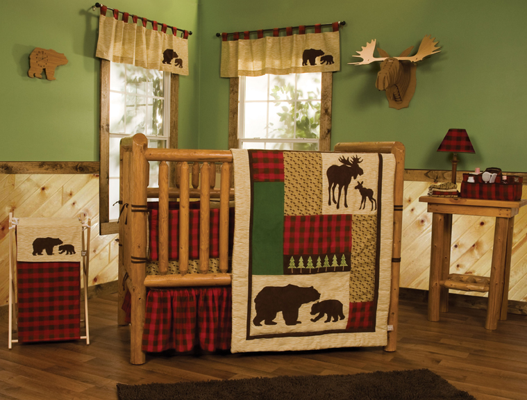 Trend Lab Northwoods - 3 Piece Crib Bedding Set