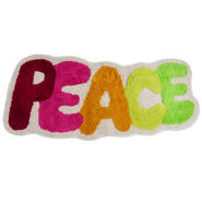 Peace Out Decorative Bathroom Rug at Kmart.com