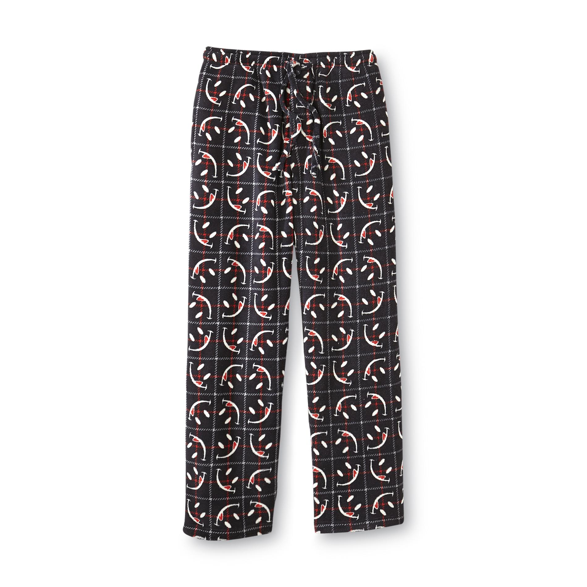 Joe Boxer Men's Fleece Pajama Pants - Windowpane at Kmart.com