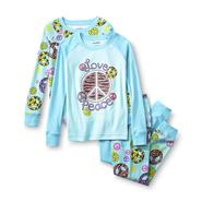 Joe Boxer Girl's 2-Pairs Graphic Pajamas - Peace Sign at Kmart.com