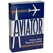 US Playing Card Co Aviator® Standard Index - Blue at Kmart.com