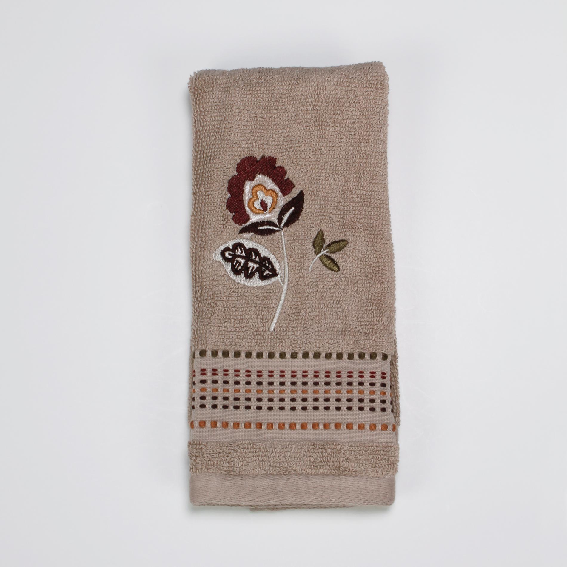 Kira Fingertip Towel Taupe