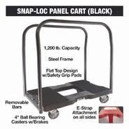 Snap-Loc Adjustable Divider Panel Truck,1200 lb., Black at Sears.com