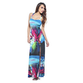 AX Paris Women's Split Splash Summer Dress - Online Exclusive at Kmart.com