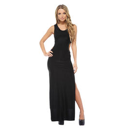 AX Paris Women's Cut Out Split Maxi Black Dress - Online Exclusive at Kmart.com
