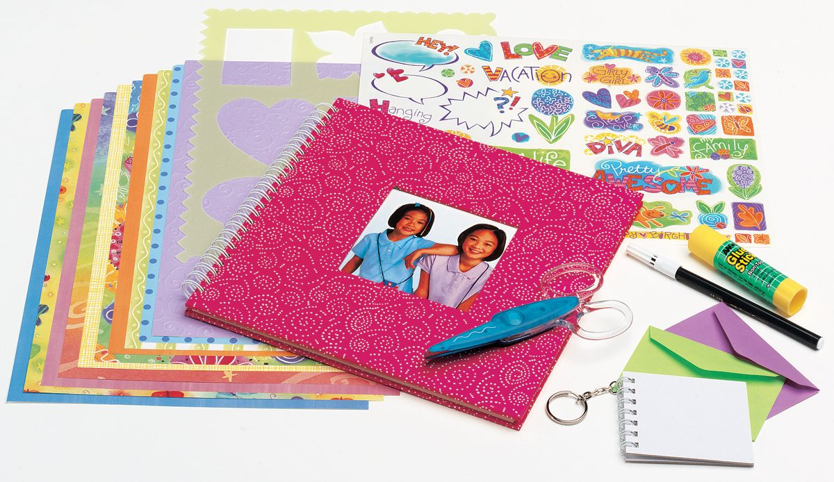 CREATIVITY FOR KIDS It's My Life Scrapbook Kit-