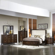 Oxford Creek Vanilla Linen 5-piece Queen-size Storage Plateform Bedroom Set at Kmart.com